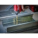 Milwaukee 48-89-4680 18-Piece Shockwave Impact Duty Thunderbolt Titanium Drill Bit Set w/ Anti-Walking 135 Degree Angled Tip and Storage Case