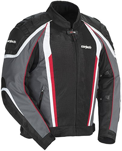 Cortech GX-Sport Air 4.0 Mens Gun Metal/Black Mesh/Textile Jacket - 2X-Large