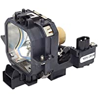 Electrified ELPLP21 Replacement Lamp with Housing for Epson Projectors