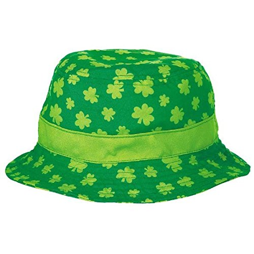 Amscan St. Patrick's Day Green Fabric Bucket Hat | Party Accessory
