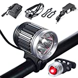 Best Bicycle Lights 5000 Lumens Rechargeables - S SUNINESS Bike Lamp Set, Super Bright 5000 Review