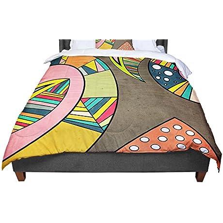 KESS InHouse Danny Ivan Cosmic Aztec Queen Comforter 88 X 88