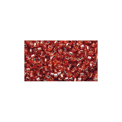 Miyuki Delica Seed Bead 11/0 DB2151, Duracoat Silver Lined Rose Copper, 9-Gram/Pack