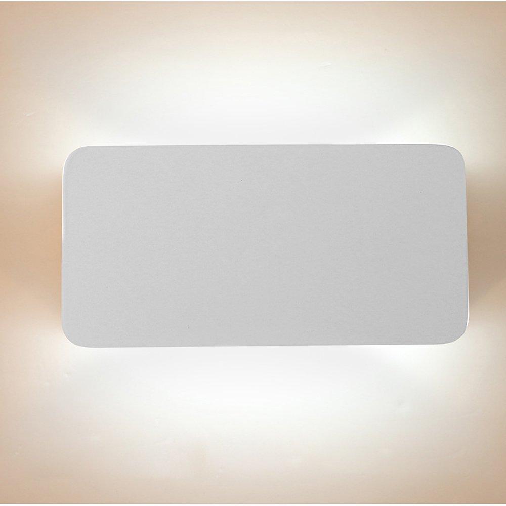 Ruanyi Waterproof COB LED Light Wall Lamp Modern Home Lighting Decoration Aluminum AC 110-240V 1PCS LED Lighting (Color : Cool White)