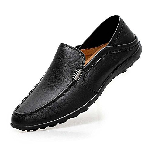 Pump Loafer Slip On Casual Chaussures Homme Cuir Style britannique 2 fa?ons de porter doux Chaussures antid