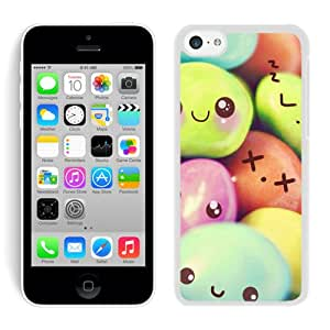 Case For iPhone 5C,Expressive Sweety White iPhone 5C Case Cover