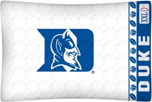 NCAA Duke Blue Devils Micro Fiber Pillow Case Logo (Duke Blue Devils Fan)