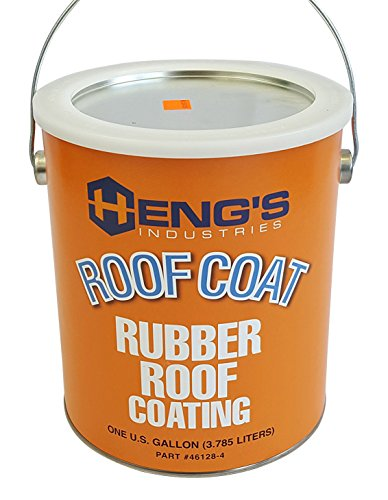 Rubber Roof Rv Care - Heng's Rubber Roof Coating - 1 Gallon