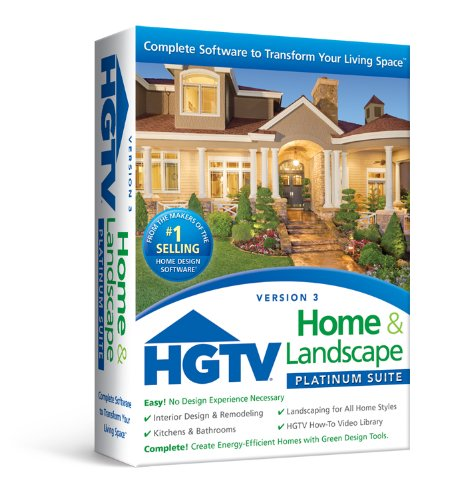 Software : HGTV Home & Landscape Platinum Suite 3.0
