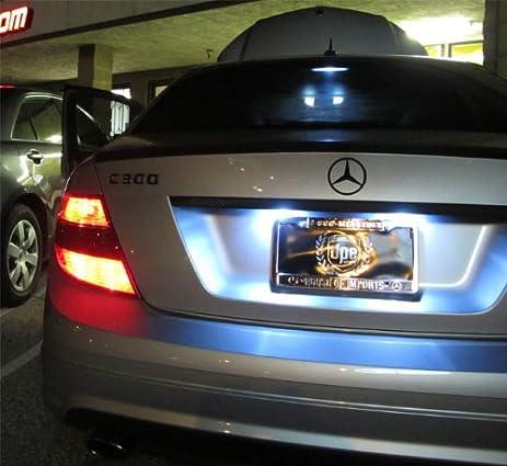 Amazon.com iJDMTOY 18-SMD Error Free LED License Plate Light L&s For Mercedes-Benz C E S Class Automotive & Amazon.com: iJDMTOY 18-SMD Error Free LED License Plate Light ... azcodes.com