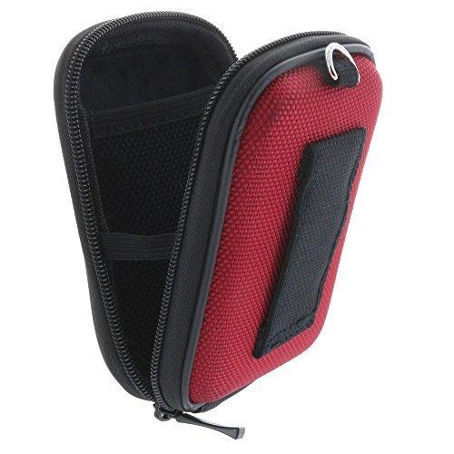 Kameratasche inkl. Handschlaufe und Karabiner - Größe: Kompaktkamera S 1.2 - Hard-case - Rot