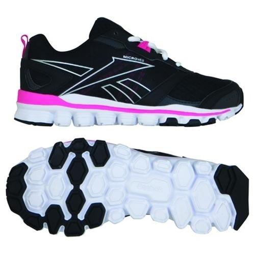 bianco Run rosa Nero 39 Reebok Corsa Scarpe Hexaffect Da Nero Donna rosa bianco 0F4w5q