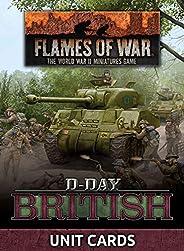Flames of War: Late War: D-Day British Unit Cards (FW264U)