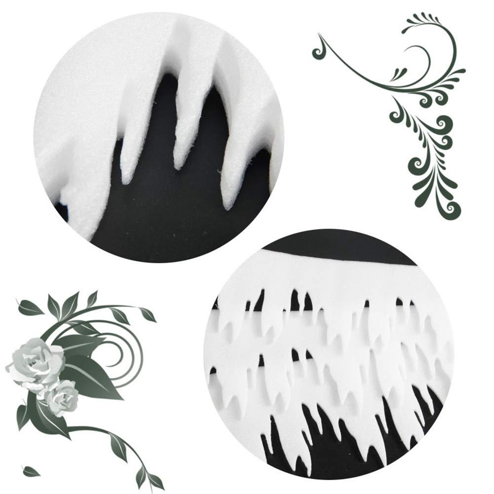 Gfjhgkyu Lot de 3 d/écorations de No/ël en Forme de Pommes de Fer Blanc Multicolore