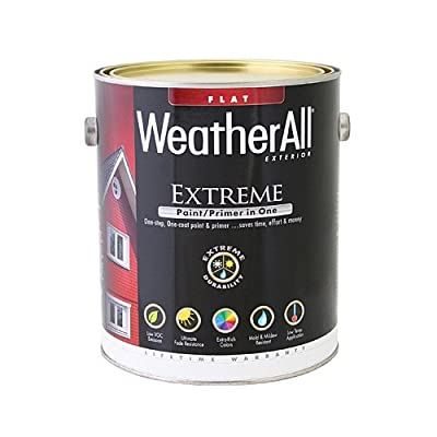 true value mfg company waef17-gl WAEF17, True Value, Premium Weatherall Extreme Paint/Primer In One, Gallon, Tudor Brown