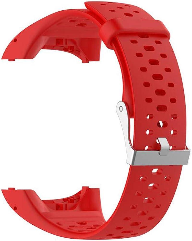 SKYSE Correa de repuesto para reloj deportivo unisex compatible con Polar M400/m430