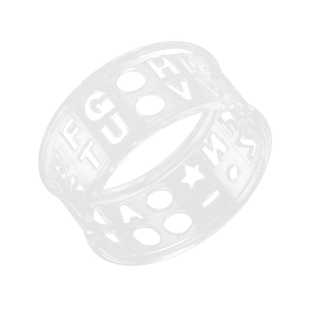monkeyjack透明Letterゴルフボールラインマーカーテンプレート図面線形ツール機器   B075LKXDZ7
