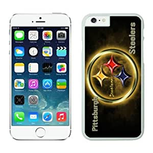 Pittsburgh Steelers Case For iPhone 6 White 4.7 inches