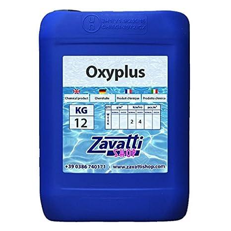 12 Lt Oxyplus - Ossigeno attivo per piscine  Amazon.it  Giardino e ... b953dcdbab81
