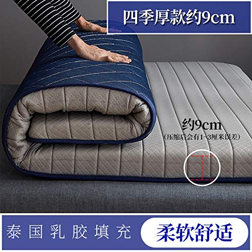 MB*ZL Mattress,Student Dormitory Folding Mattress,Travel Thick Mattress,Portable Thicken Pad Tatami-D-180 * 200cm