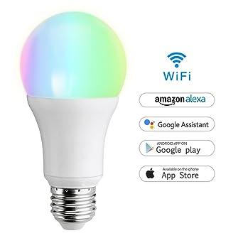 Wifi Smart Lampe Wlan Led Dimmbar Glühbirne 7w E27 650lm