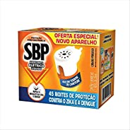 Repelente Elétrico Líquido 45 Noites Kit Com Aparelho e Refil, SBP