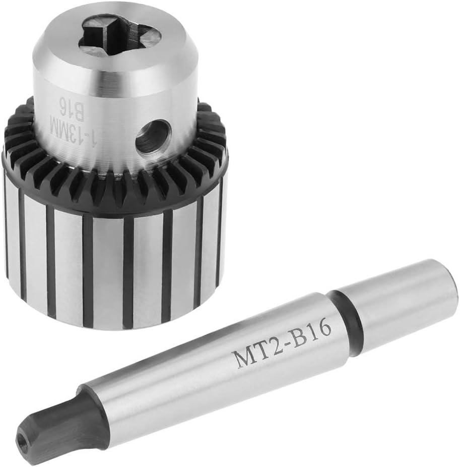 capacit/é FTVOGUE 1-13mm Mandrin Porte Foret Outil de tour mini de mandrin de foret de type MT3-B16 en acier au carbure