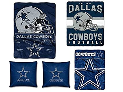 Amazon The Northwest Company NFL Dallas Cowboys 40pc Ensemble Interesting Nfl Blankets And Throws