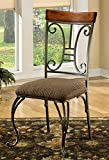 (US) Signature Design by Ashley D313-01 Plentywood Collection Dining Room Chair, Brown (Set of 4)