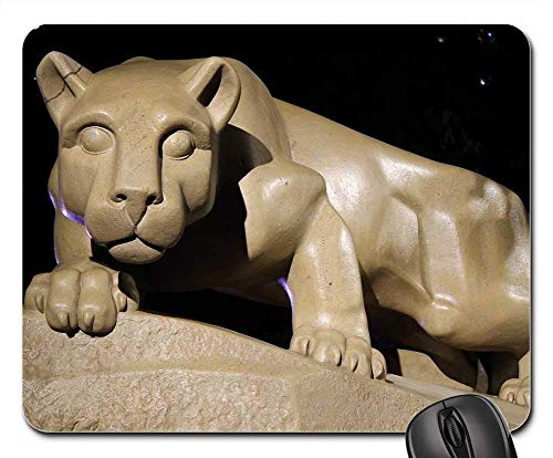 Penn Pad State Mouse - Mouse Pad - PSU Lion Mountain Lion State College Penn State Non-Slip Mouse pad