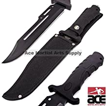 Unlimited Wares HK-1036 Fixed Blade Tactical Combat Knife 13-Inch Overall