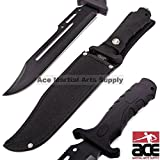 Unlimited Wares HK-1036 Fixed Blade Tactical Combat Knife...