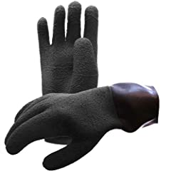 A very comfortable Latex DryGlove with an anatomical design with pre-bent fingers and the thumb at the right place. The hand part has a Heavy Duty surface treatment that enhances grip and durability. Inner gloves ensure a warm and comfortable...