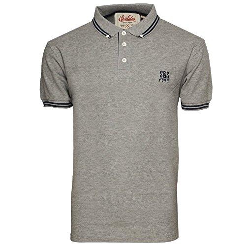 Men's T Shirt Soul Star RALLINGPKB Grey UK Medium/US Small