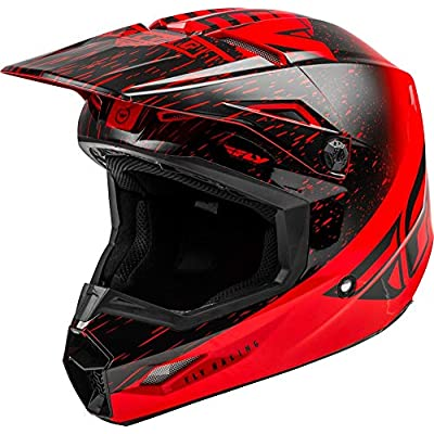 Fly Racing 2020 Kinetic Helmet - K120 (Medium) (RED/Black): Automotive