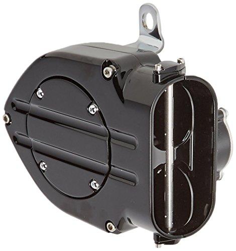 Kuryakyn 9987 Black Hypercharger Air Filter Kit (Hypercharger Air)