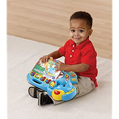 VTech Touch and Teach Elephant Book: Toys & Games