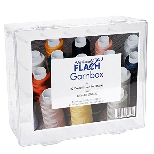 Garnbox für 20 Overlockkonen Garn Konen