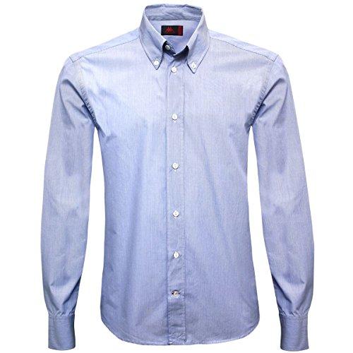 Camisa - Kristof BLUE WHITE-STRIPED