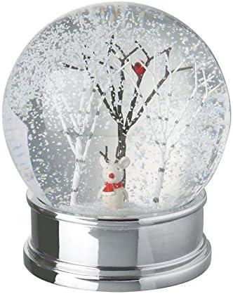 Unbekannt Heaven Sends Schneekugel mit Baum und Maus innen