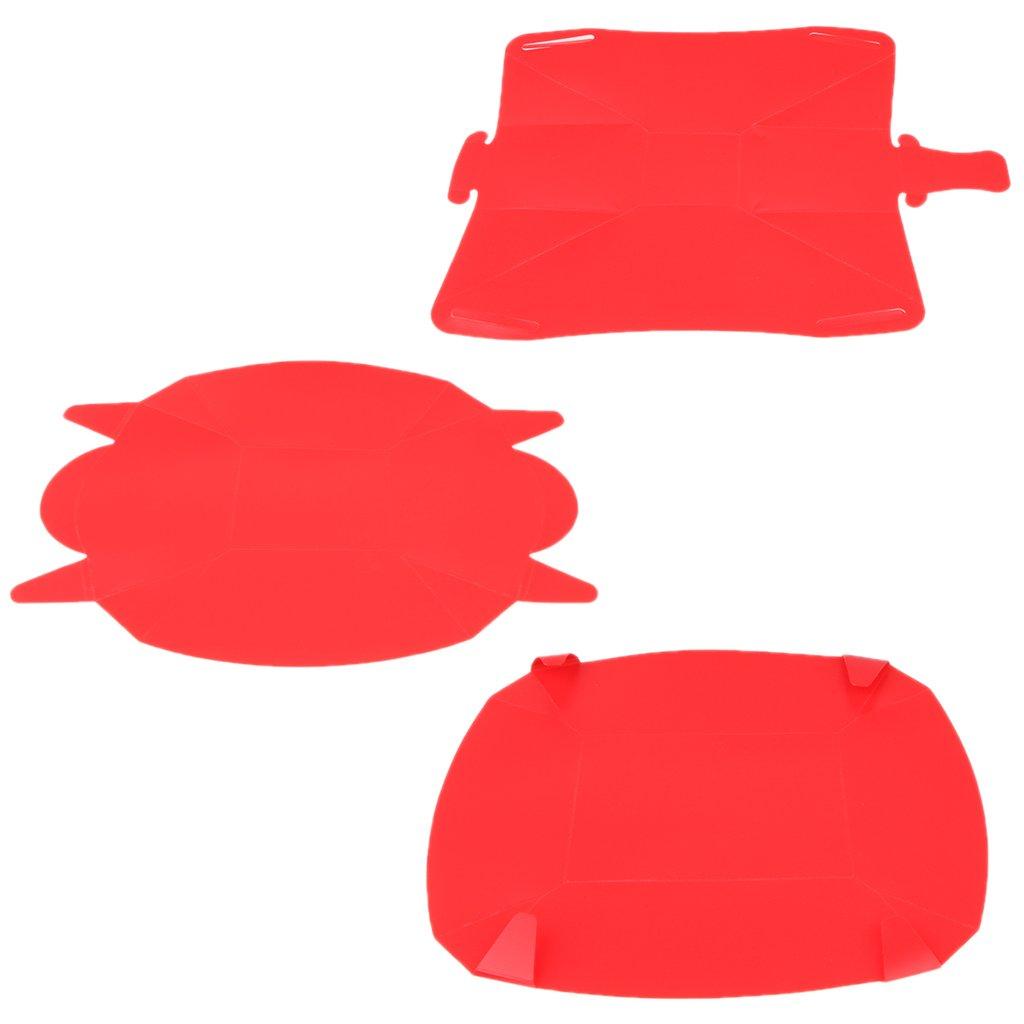 f/ür Outdoor-Gebrauch faltbar f/ür Rucksackreisen//Picknicks//Grillen tragbar Sharplace Geschirr-Set Sch/üssel//Teller//Tasse