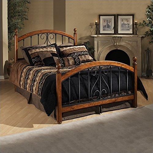 (Hillsdale Furniture 1258BQR Hillsdale Burton Way Queen Bed, Cherry)