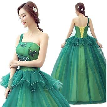 bc4511a4ca045 グリーン カラードレス 二次会ドレス パーティードレス ウェディングドレス 演出舞台 発表会 演奏会用