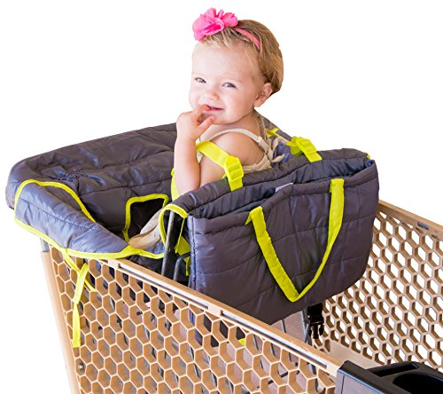 how to make baby shopping cart seat cover