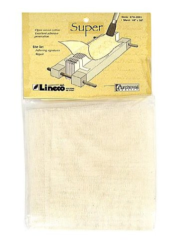 Book Binding Super Cloth 18x30 Sheet by Lineco-Book Making Supplies