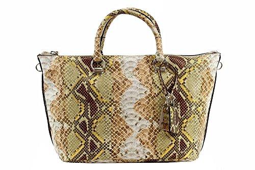 Guess Womens Juliana Satchel Handbag