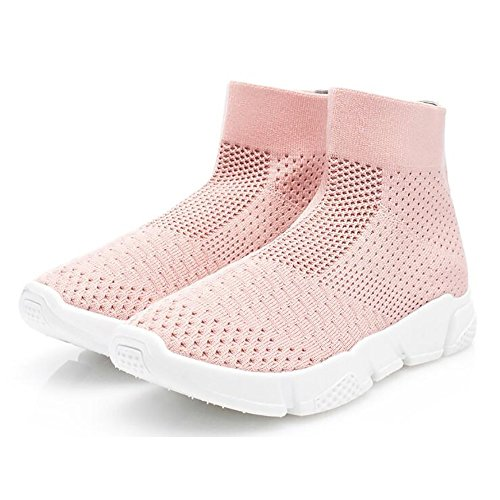 Slip Lightweight On Walking Athletic Running Fashion Women Shoes Shoes Shoes Sports Pink1935 Sneakers Wonvatu XwxYqtHH