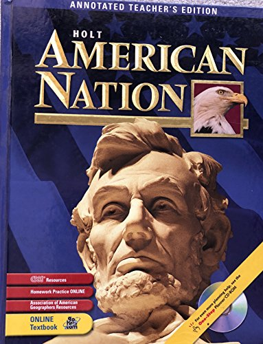 Holt American Nation, Annotated Teacher's Edition