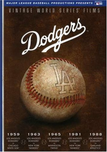 MLB Vintage World Series Films - Los Angeles Dodgers 1959, 1963, 1965, 1981 & 1988 by A&E