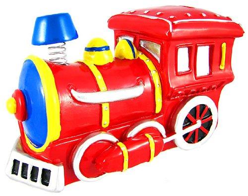 Bobble Smoke Stack Engine Locomotive